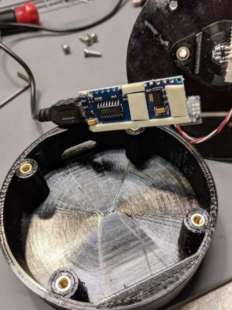 Vacuum Tube LEDs - unstuck foam tape