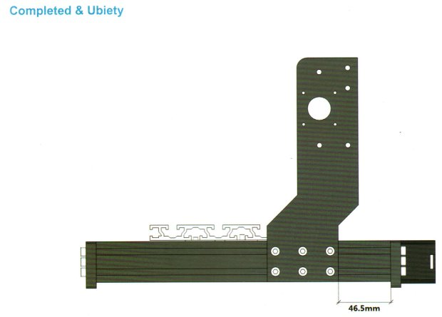 3018CNC - Gantry plate position