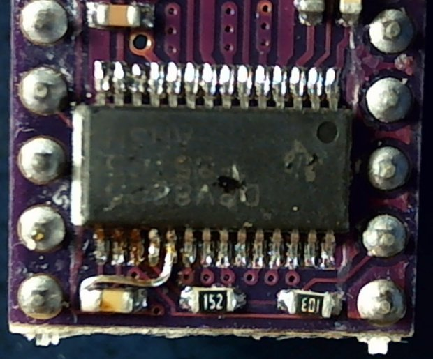 DRV8825 PCB - Decay pin wired low
