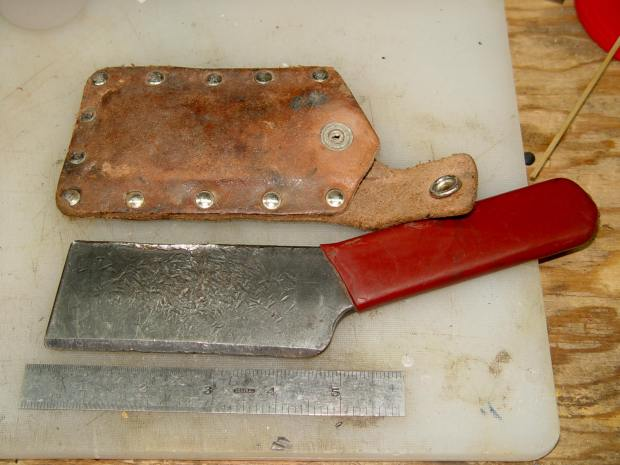 Mystery chisel knife - overview