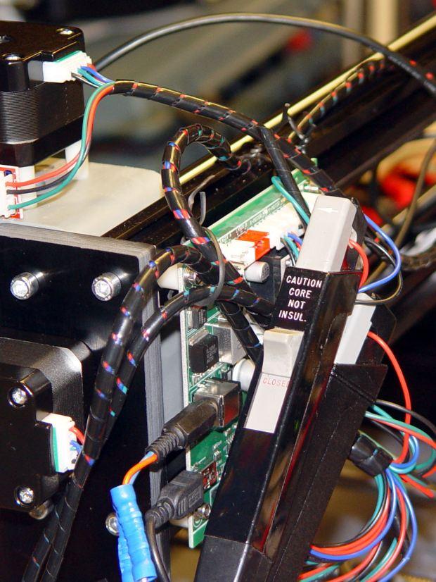 CNC 3018-Pro - XY axes - Tek current probes