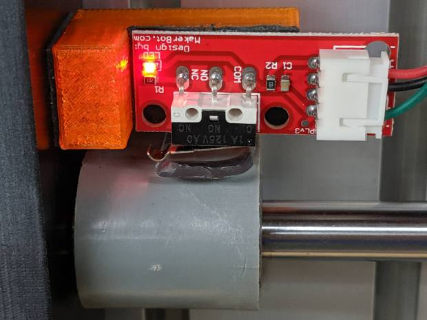 3018 CNC - Y axis endstop