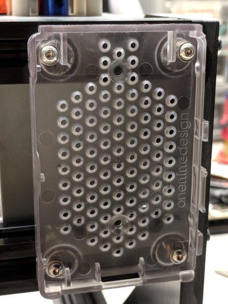 3018CNC - RPi case - mounted