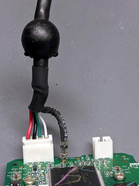 Logitech Pro 5000 Ball Camera - USB connector