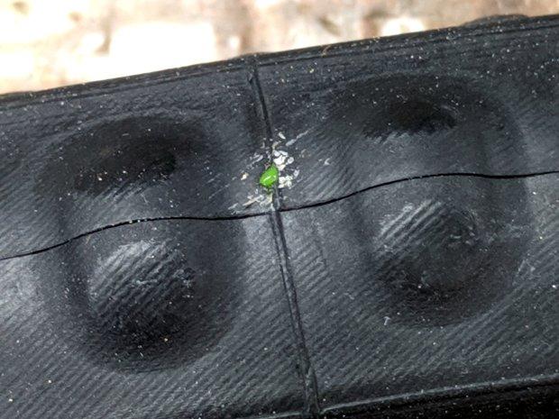 Marathon tire puncture - tube damage