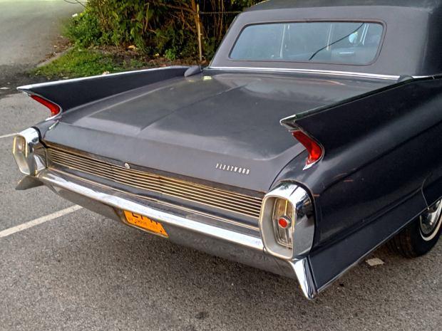 Cadillac Fleetwood tail fins