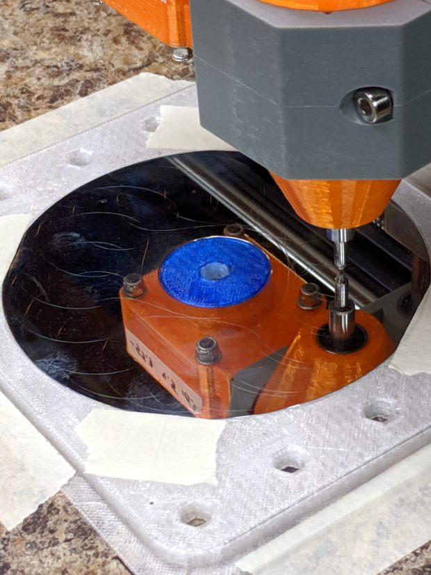 CNC 3018-Pro - HD platter fixture - 70 g