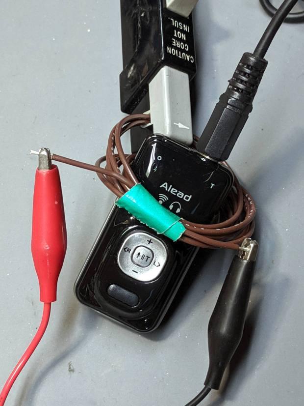 Alead T-coil receiver - test setup