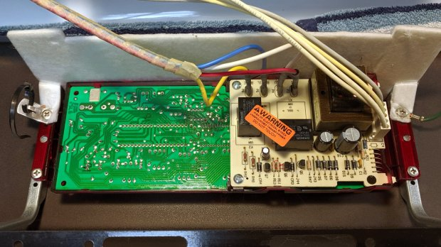 Kenmore oven control - PCB overview