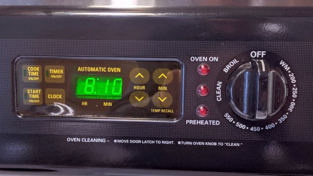 Kenmore oven control - Kapton tape cover