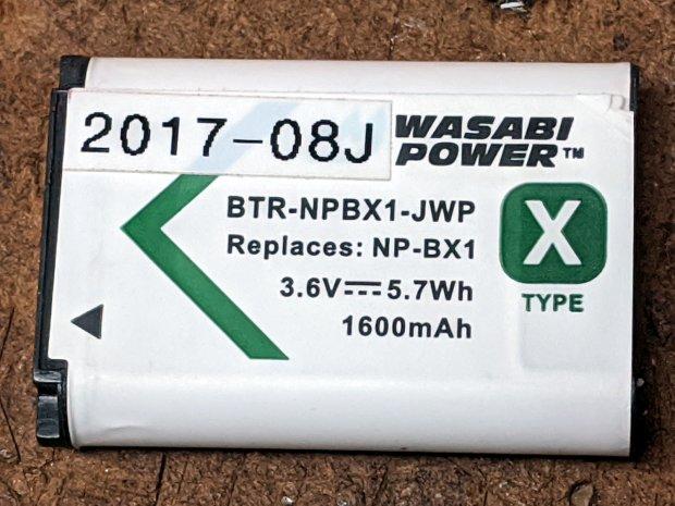 Wasabi NP-BX1 - intact