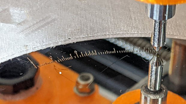 Tek CC - bottom deck - HD platter - L scale