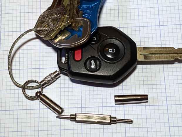 Tiny screwdriver