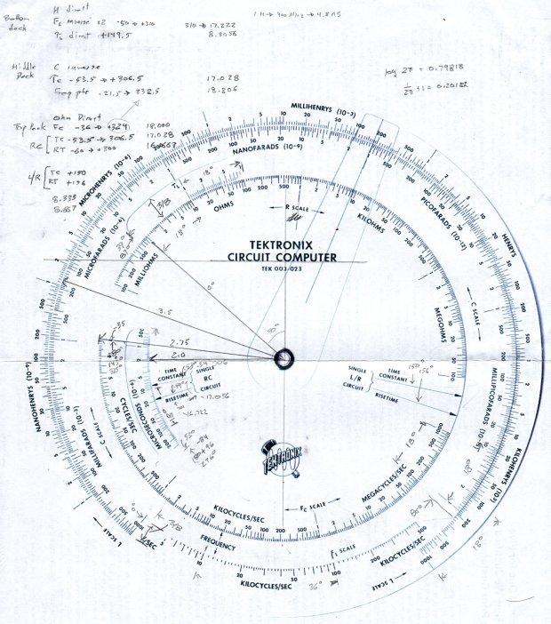 Tektronix Circuit Computer - angle layout