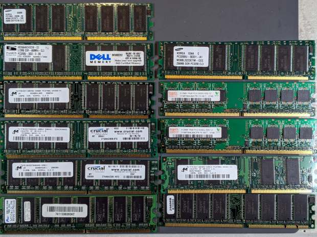 DRAM Assortment - PC2 DDR