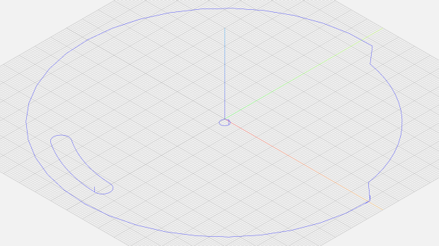 Tek CC - middle deck outline