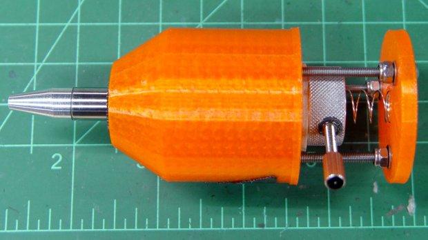 Pilot V5RT holder - lock screw insert - assembled