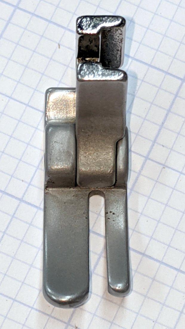 Kenmore 158 Presser Foot - sandblasted - front