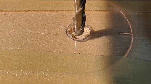Tek CC - cursor pivot hole milling