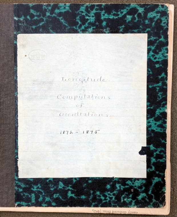 Mitchell 8.6 - Longitude computations of occultations 1872-1875