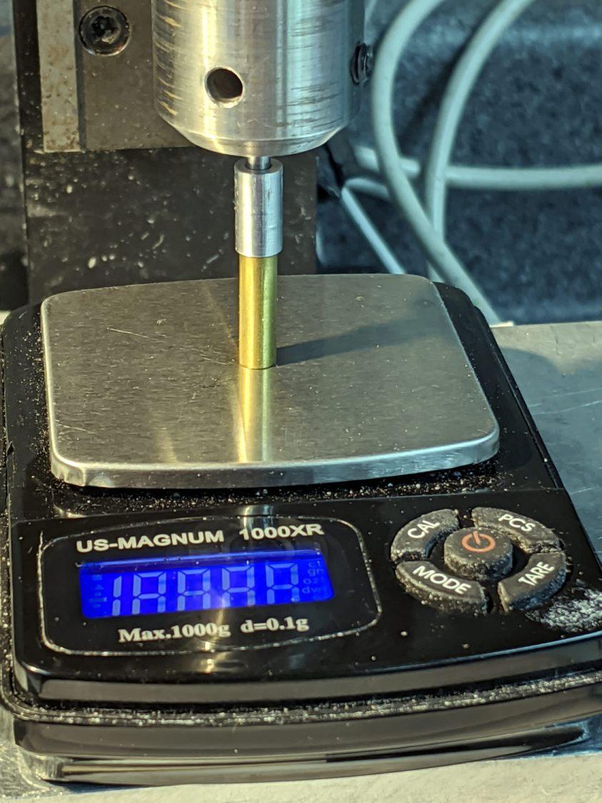 Sherline Diamond Drag Holder - installed