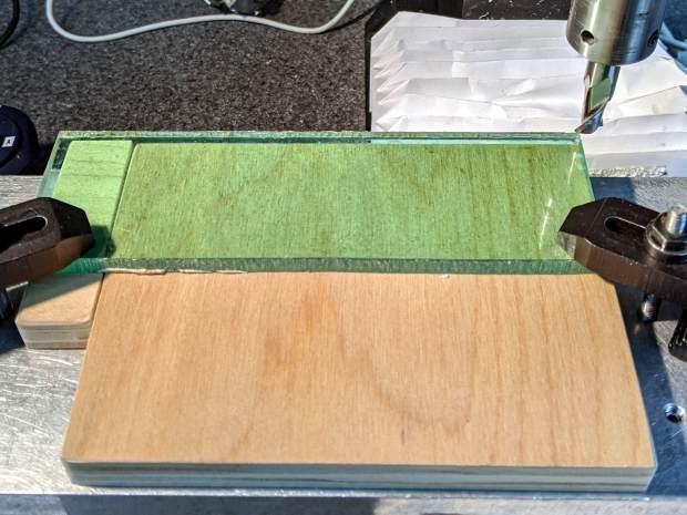 Tek CC - Cursor milling fixture - squaring sides
