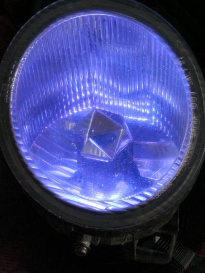 Nissan Fog Lamp - blue phase