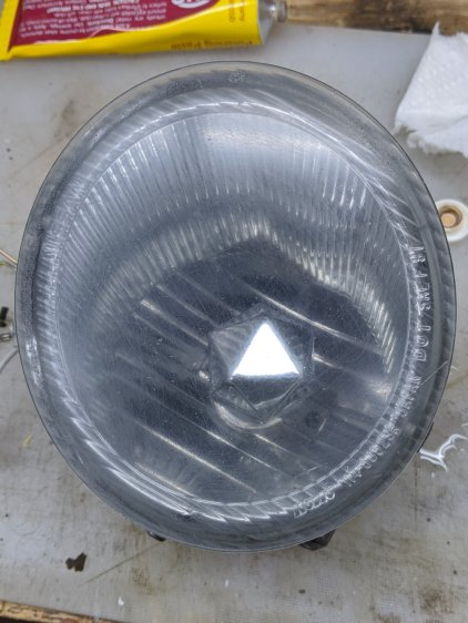 Nissan Fog Lamp - semi-cleared lens