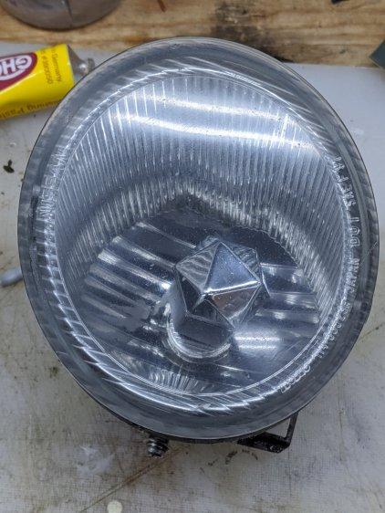 Nissan Fog Lamp - cleared lens
