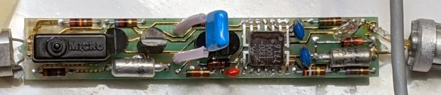 HP 10526T Logic Pulser - PCB detail