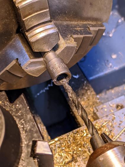 Drilling 5.5 mm socket