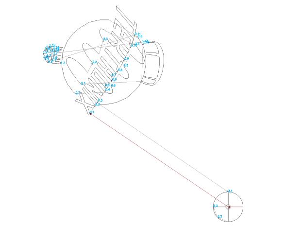Tek Logo - DXF2GCODE vectors