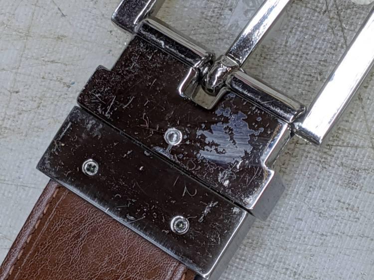Reversible Belt Buckle - M3 setscrew installed