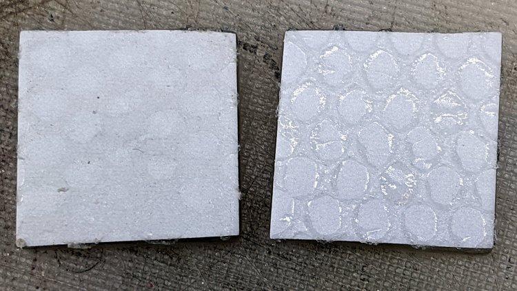 Glass Tiles - adhesive mesh