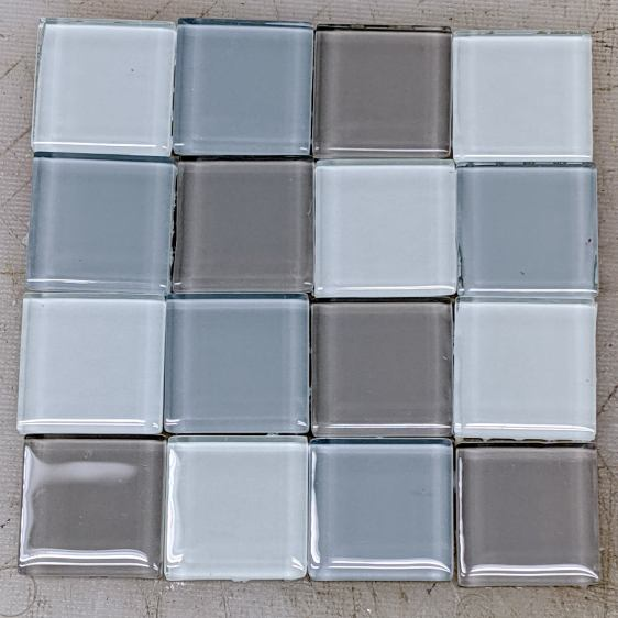 Glass Tiles - sample layout