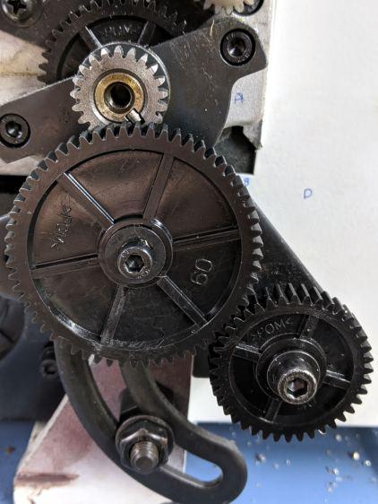 Mini-Lathe change gears - 1 mm - 21 50 60 40