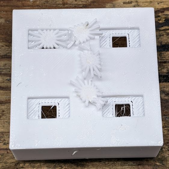 Glass Tile - 2x2 - support spiders