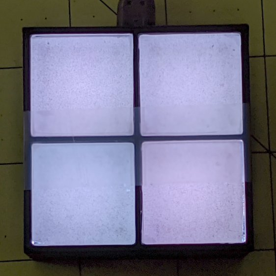 Glass Tile - 2x2 - white color variation