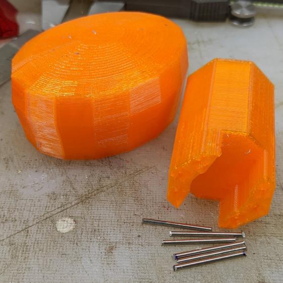 Hose Valve Knob - cut pins