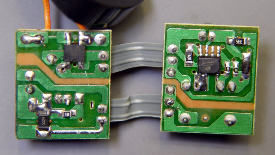 Anon white charger - PCB bottom