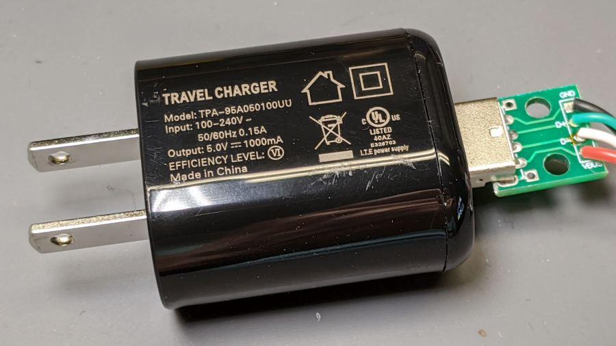 Abosi charger - dataplate