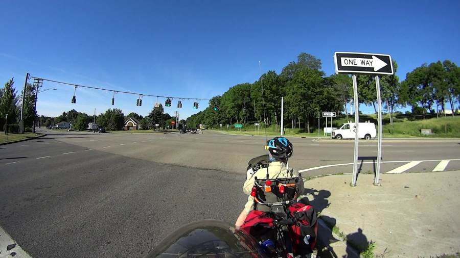 Vassar Rd at Rt 9 - Green signal - 2020-06-21