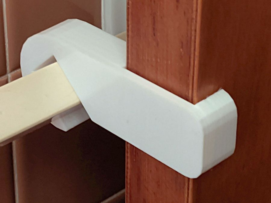 Bathroom Door Retainer - stronger