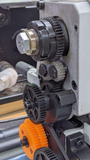 MT3 drawbar - installed