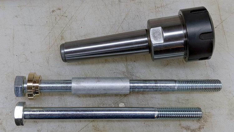 MT3 drawbar - assembled