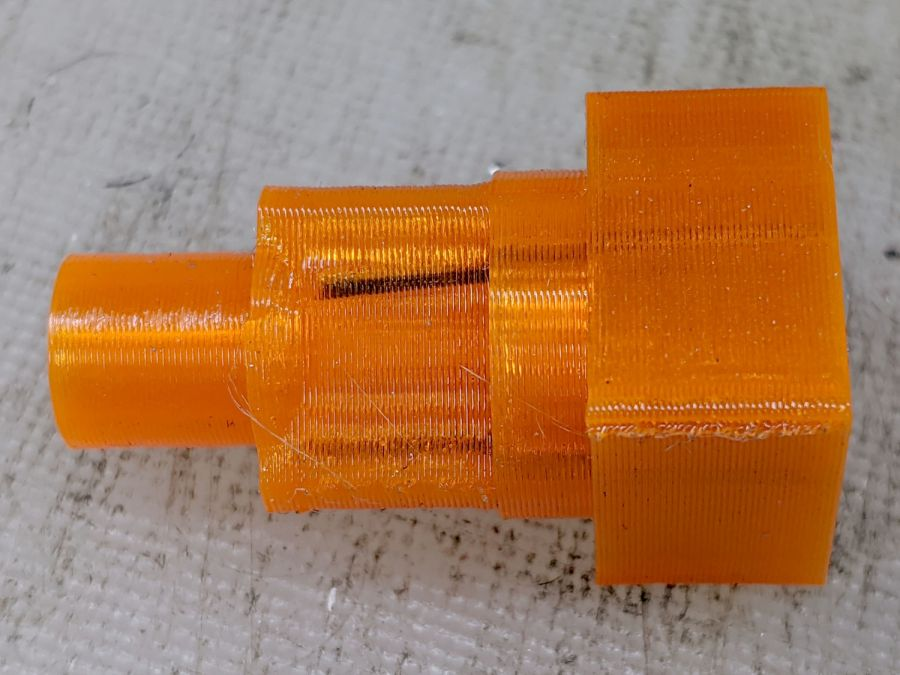 Reinforced QD Adapter Tool - errant wire