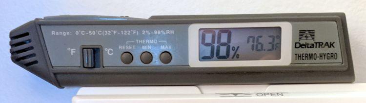 Pre-Isaias humidity