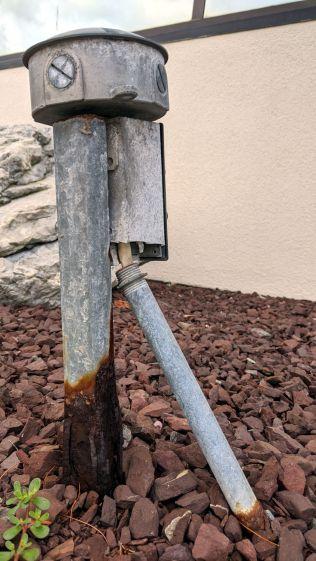 Outdoor Junction Box - open wiring