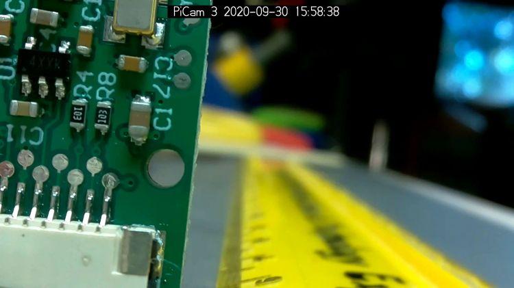 Arducam Motorized Focus RPi Camera - near focus