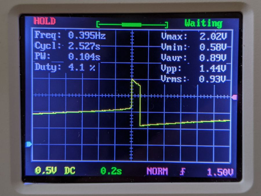 LM3909 - Darl Q1 3x Q2 - 1.5 V - Green LED V - DSO150